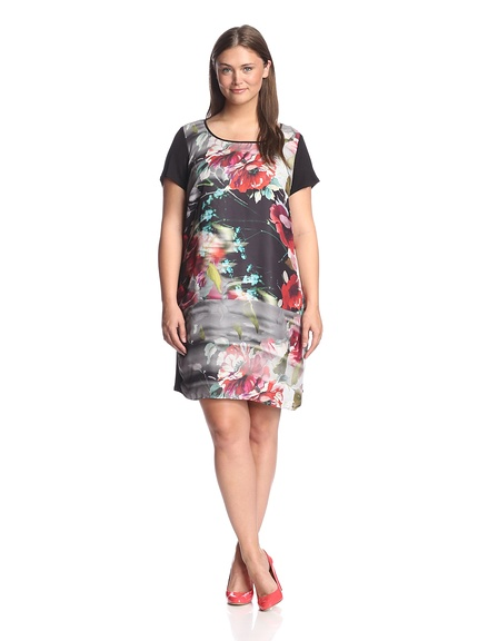 Flower Power! Beautiful floral dress looks stylish yet comfy!