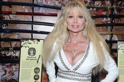 Actress Laurene Landon who played a detective in the film