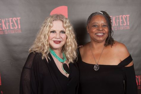 Actresses Suze Lanier-Bramlett and Reatha Grey