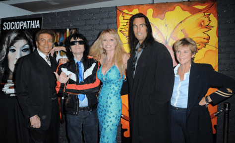 The film's stars from left to right: Mel Novak, Tommy Wiseau, Laurene Landon, Mathew Karedas and Kristine DeBell. Photo courtesy of Albert L. Ortega/Gettyimages