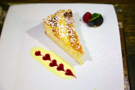 The dessert at Barrique is the perfect ending to the meal. All photos courtesy Judy Hansen Pullos