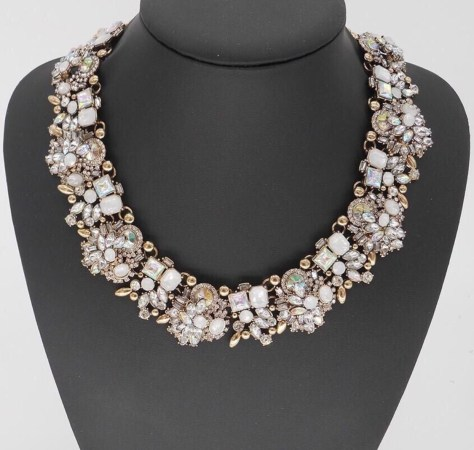 "The ""Regal"" Vintage necklace looks great at VIP events"