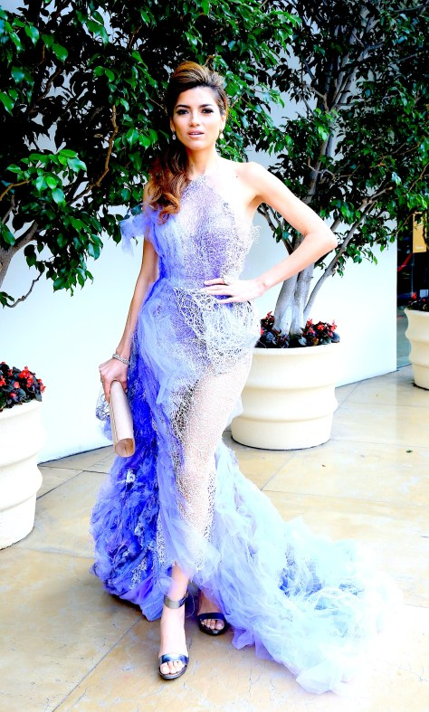 Blanca Blanco at the Night of 100 Stars. Photo courtesy BurrisAgency