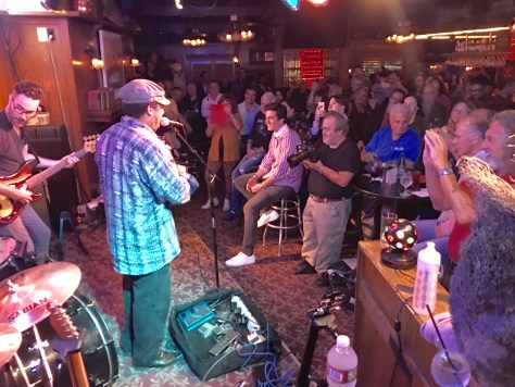 Lionel Young at the Maui Sugar Mill Saloon in Tarzana, California. Photo courtesy Judy Hansen Pullos