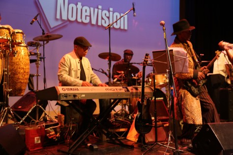 The Master Phonk House Band at the JGW Tribute in downtown Los Angeles on May 17, 2016. Photo courtesy D Brown at the Hollywood Press Corps