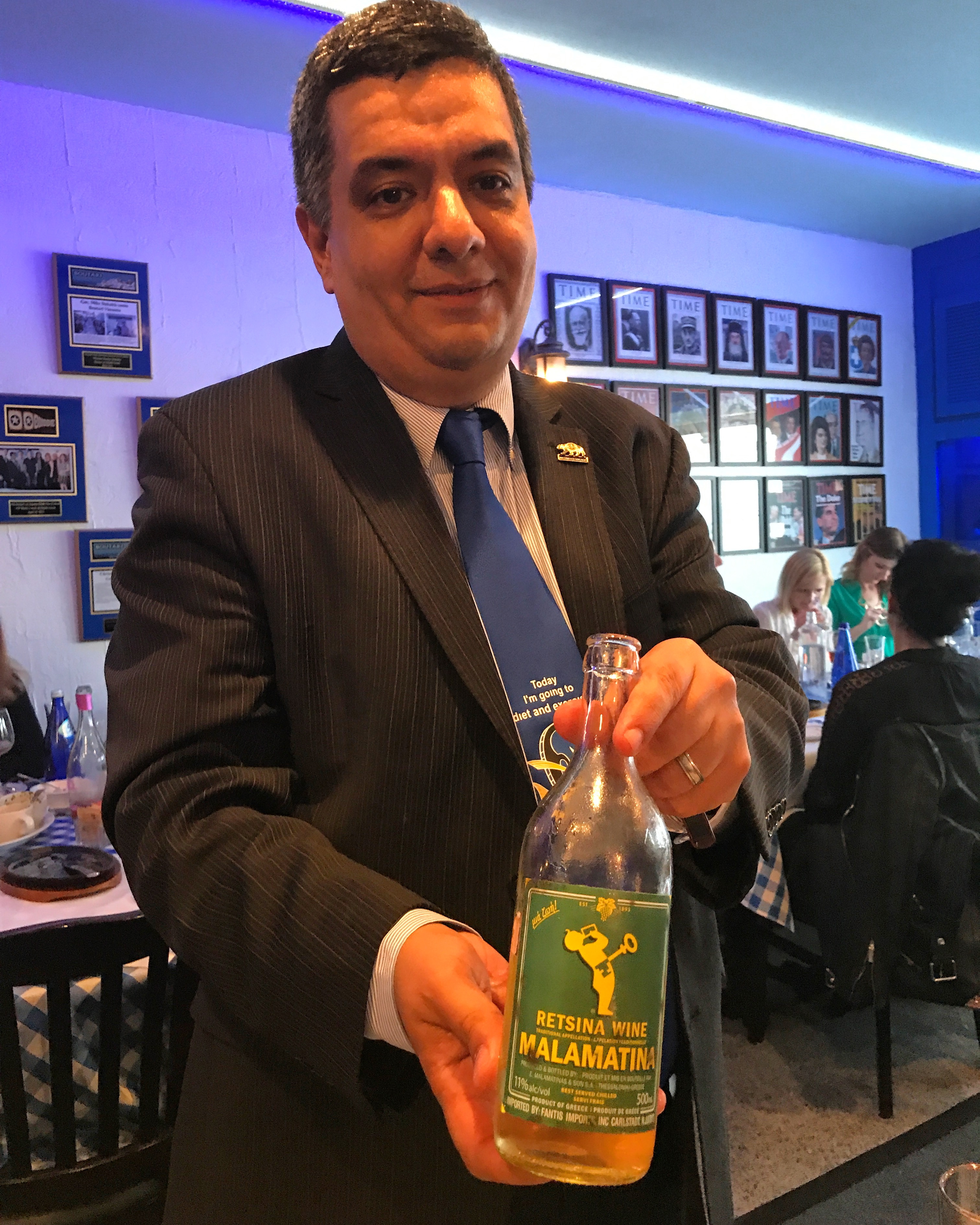 Authentic Greek Food at Delphi Greek in Westwood | Hollywood Press Corps