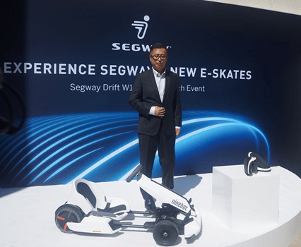 Segway-Ninebot Launches New Products
