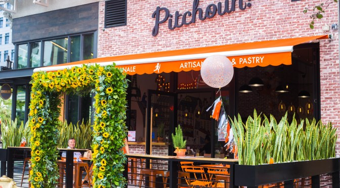 PITCHOUN! OPENED ITS NEW LOCATION AT THE BEVERLY CENTER