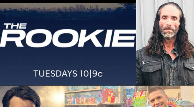 Hollywood's Top Bad Guy Jasper Cole Guest Stars in ABC's The Rookie tonight!