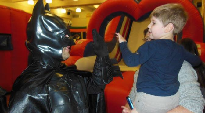 Batman Saves The Day Via the Smiles Through Cars Charity!