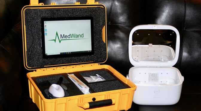 MedWand's™ New, Cutting-Edge Telemedicine Kit: Mobile SQM DOC Allows you to Screen, Quarantine and Monitor for Coronavirus 19