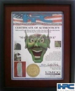 Maximum Overdrive Green Goblin Head Piece 16 of 44