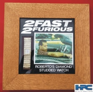 2 FAST 2 FURIOUS: ROBERTO'S DIAMOND STUDDED WATCH
