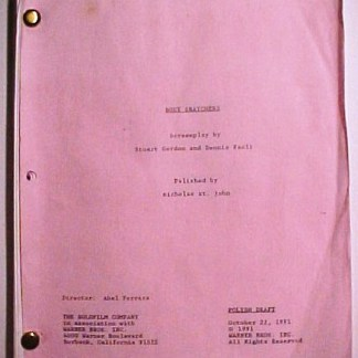 BODY SNATCHERS: Movie Script