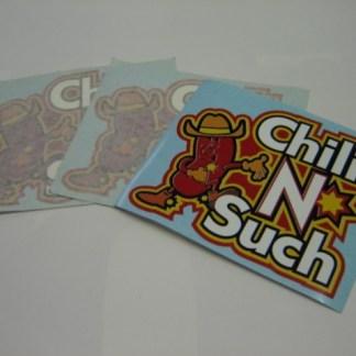 GRIND: Chili-N-Such Decals