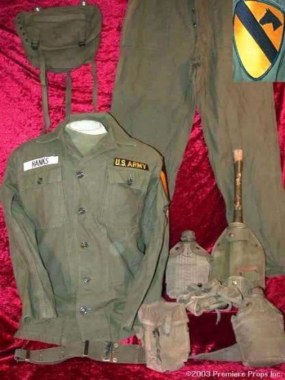 WE WERE SOLDIERS: U.S. Air Calvary Uniform