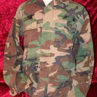 BASIC: Ranger Camo Fatigue Shirt