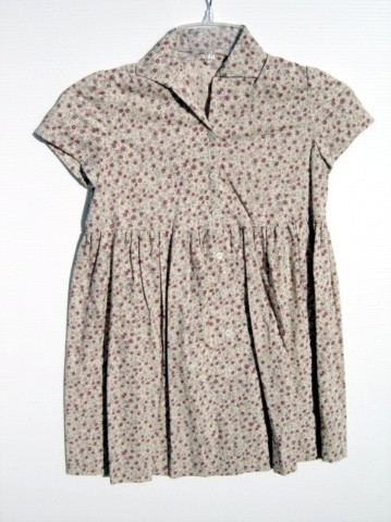 SCARY MOVIE 3: Sue's Rose Print Button Down Dress