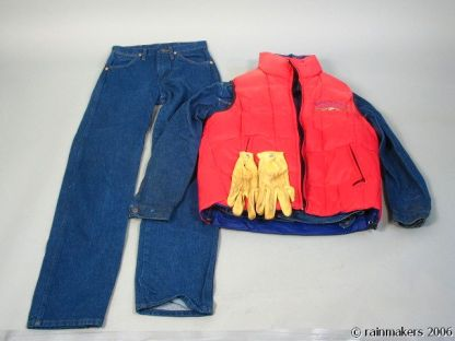 HOOT: Roy (Logan Lerman) Vest, Jacket, Jeans, Glov