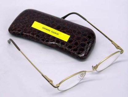 PLAYING BY HEART: Hugh's (Dennis Quaid) Glasses