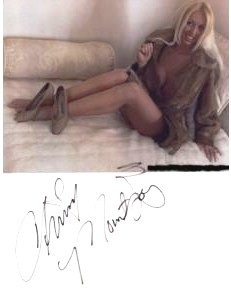 CHRISSY MOUNTJOY: Autographed Coat & Picture