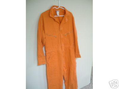 TIME COP 2: Orange  ie Jumpsuit