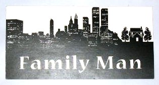 THE FAMILY MAN: Production Personel Car Card