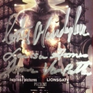SAW 3D PREMIERE TICKET AUTOGRAPHED BY 3