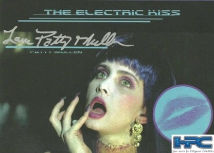 Patty Mullen Autographed Frankenhooker Kiss Card