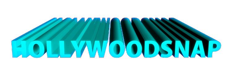 HOLLYWOODSNAP 3D文字ロゴ