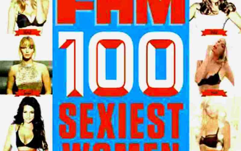 世界で最もセクシーな女性ランキングFHM100