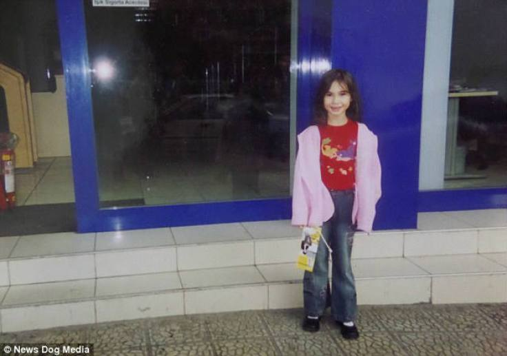 Lolita, pictured aged six, says as a child she was a tomboy with no real interest in dolls or dressing up