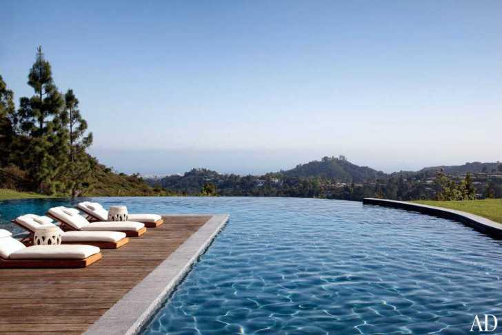 Gisele Bündchen and Tom Brady's Los Angeles Home's Pool