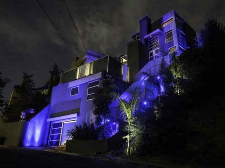 クリス・ブラウンの自宅豪邸