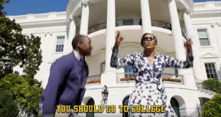 ミシェル・オバマ大統領夫人、ラップを披露!