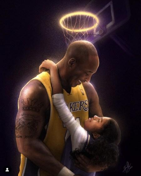 Kobe and Gigi Bryant