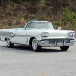 1958 Pontiac Bonneville Convertible Hollywood Wheels Auction Shows