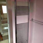 towel rail installation