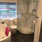 bathroom shower installation