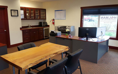 Andy Holman Office