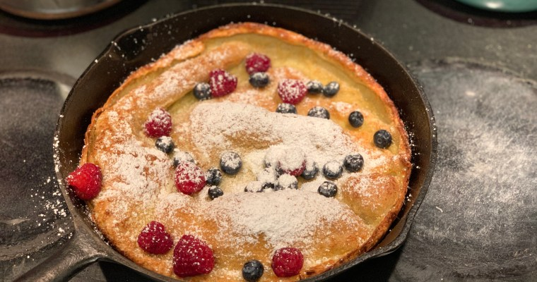 Crispy-Puffed Dutch Baby