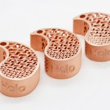 holo 3d printed copper keychains
