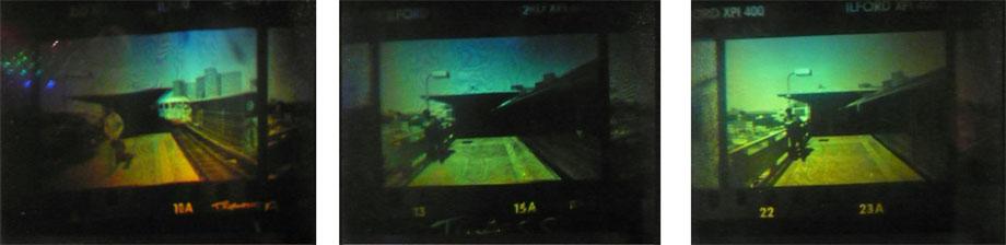 Patrick Boyd, Bartus Takes a Downtown Train, 1990