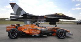 Spyker F1 vs F16