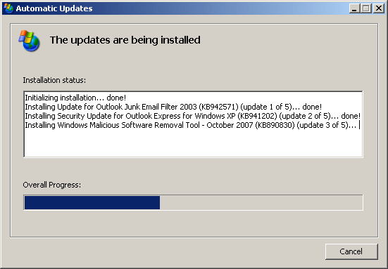 Windows Automatic Update