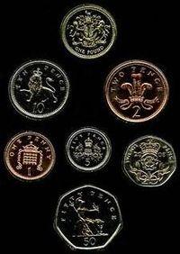 Moedas Britânicas