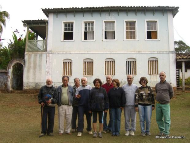 Os 10 filhos prsentes na reunião familiar de 9 de Março de 2011