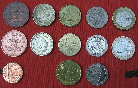 Limpeza de moedas