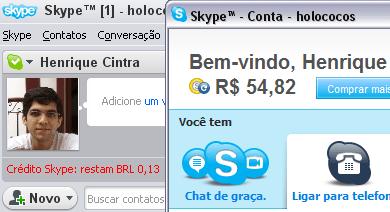 Bug no skype