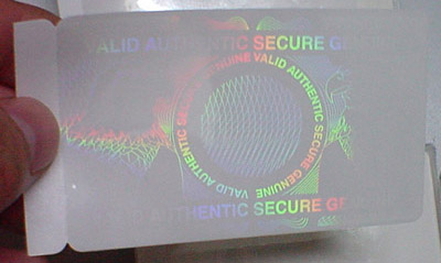ID Cards made more effective with holograms
